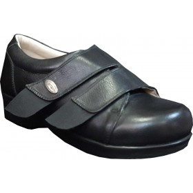 Leather Women's Diabetic Shoes for Swollen Feet ODDG05